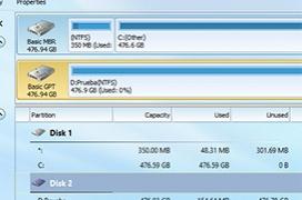 Como cambiar un disco de MBR a GPT sin perder datos con MiniTool Partition Wizard