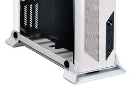 Lian Li PC-O5SW, la pequeña torre mini-ITX se pasa al blanco y negro