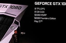 Especificaciones completas de las Geforce GTX 1080