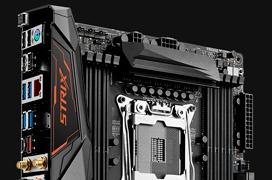 ASUS  combina las gamas ROG  y STRIX en la nueva placa ROG STRIX X99 Gaming