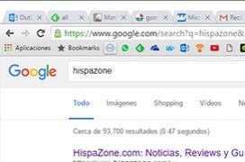 Como usar el motor de búsqueda deslocalizado de Google.com en Chrome