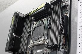 MSI muestra dos nuevas placas base LGA2011v3 y LGA1151  para workstation