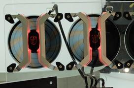 DeepCool MF360, ventiladores RGB con control vía smartphone