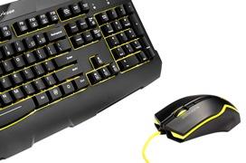 Nuevo kit de teclado y ratón gaming Sharkoon SharkZone GK15