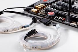 Phanteks ya tiene tiras de LED RGB compatibles con el sistema AURA de ASUS