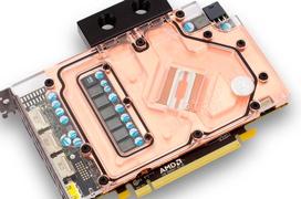 EK enseña sus bloques de refrigeración líquida para las Radeon RX 480