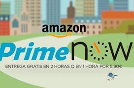 Amazon estrena Prime Now en Madrid, envíos en tan solo 1 o 2 horas