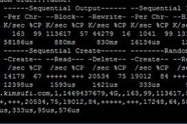 Como medir el rendimiento de disco en tu Linux