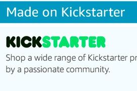 Amazon venderá productos de Kickstarter
