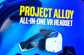Intel nuncia Alloy, unas gafas de realidad virtual AiO con detección de objetos reales