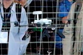Demostración en vivo de un dron con Intel Aero