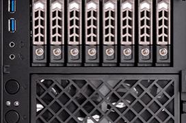 Silverstone CS280 te permite montar tu propio NAS de 8 bahías