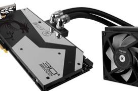 MSI lanza la GTX 1080 30th Anniversary Edition con refrigeración líquida completa