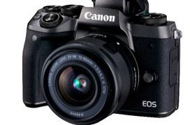 Canon apunta hacia el mercado de las cámaras mirrorles de gama alta con su nueva EOS M5