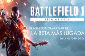EA bate record de jugadores con la beta del Battlefield 1