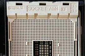 Primeras imágenes del socket AM4 de AMD