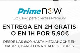 Amazon Prime Now llega a Barcelona con entrega en 1 hora