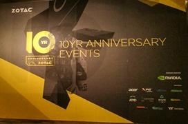 Zotac cumple 10 años y lanza 3 excepcionales productos en edición limitada