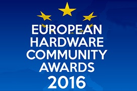 Ganadores de los European Hardware Community Awards 2016