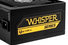 Bitfenix busca el máximo silencio en las fuentes Whisper M