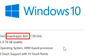 Windows 10 para ARM no podrá ejecutar aplicaciones x86-64