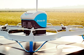 Los drones de Amazon entregan su primer pedido