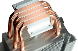 El disipador ID-Cooling SE-214C utiliza heatpipes de contacto directo