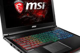 MSI actualiza su línea de portátiles gaming con Kaby Lake