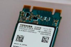 Toshiba reduce al mínimo el tamaño de los SSD M.2 BG Series