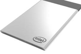 Intel Compute Card, un PC que parece una tarjeta de crédito