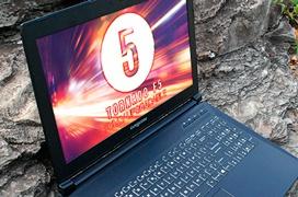 Eurocom Tornado F5, un portátil de 15 pulgadas con GTX 1080 y un Core i7-7700K de sobremesa