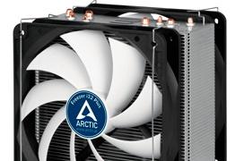 Doble ventilador para el disipador semi-pasivo Arctic Freezer i32 Plus
