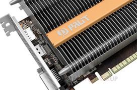 Palit GTX 1050 Ti KalmX con refrigeración pasiva