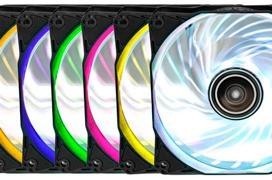 Ventiladores Antec Rainbow 120 con iluminación RGB