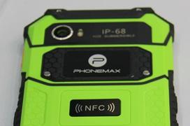 PHONEMAX anuncia un smartphone ruguerizado de gama alta