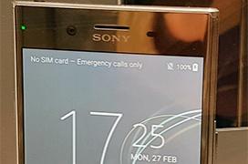 Sony introduce el Xperia XZ Premium con pantalla 4K