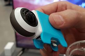 Giroptic IO, una cámara de 360 grados para el móvil