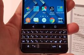 El teclado físico es el protagonista de la Blackberry KeyOne