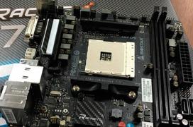 La primera placa base AM4 en formato Mini-ITX será de BIOSTAR