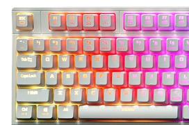 Blanco puro para el teclado mecánico ZM-K900M de Zalman