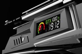 La Colorful iGame GTX 1080 Ti incluye una pantalla en la propia tarjeta
