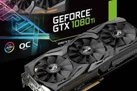 ASUS presenta sus ROG STRIX GTX 1080 Ti