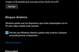 Como bloquear el PC con Windows Goodbye en Windows 10 Creators Update