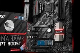 MSI integra de serie Intel Optane Memory en tres placas base con chipset 200