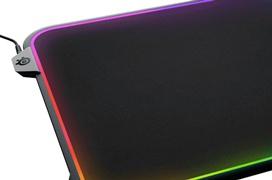 Iluminación RGB 360º para la alfombrilla SteelSeries QcK Prism