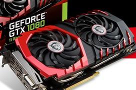MSI aumenta las frecuencias de sus GTX 1080 y GTX 1060 Gaming X+