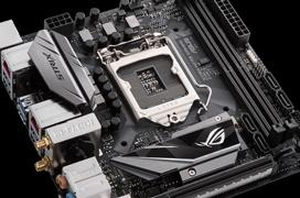 ASUS anuncia su placa mini ITX ROG Strix H270I