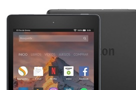 Amazon actualiza sus tablets Fire 7 y Fire HD 8