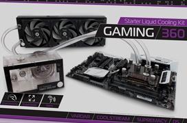 EK Gaming, kits de refrigeración líquidas para montar por piezas