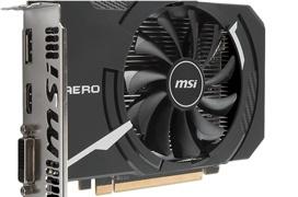 MSI Radeon RX 560 Aero en formato ITX